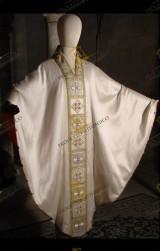 Casula bianca gotica 3028B11