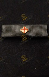 KNIGHT HOLY SEPULCHRE (KHS) RIBBON FOR MILITARY UNIFORM
