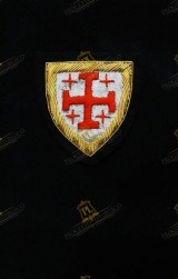 BERET BADGE RANK FOR KNIGHT HOLY SEPULCHRE