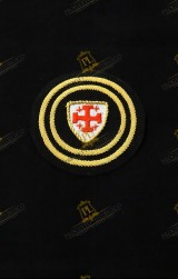 BERET BADGE RANK FOR COMMANDER WITH STAR HOLY SEPULCHRE