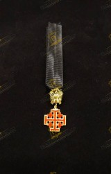 MINIATURE INSIGNIA FOR KNIGHT COMMANDER HOLY SEPULCHRE JERUSALEM (KCHS)