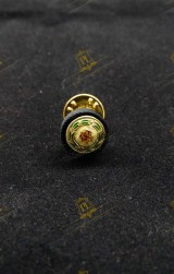 ROSETTE LAPEL PIN FOR KNIGHT COMMANDER WITH STAR HOLY SEPULCHRE JERUSALEM (KC*HS)