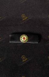 KNIGHT COMMANDER WITH STAR HOLY SEPULCHRE RIBBON FOR MILITARY UNIFORM