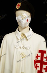 Reusable White Cotton Face Mask HOLY  SEPULCHRE  KNIGHT