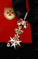 NECK INSIGNIA FOR KNIGHT HOLY SEPULCHRE JERUSALEM (KHS)