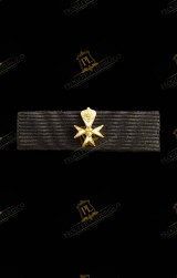 RIBBON FOR KNIGHT OF MAGISTRAL GRACE OF DEVOTION ORDER OF MALTA