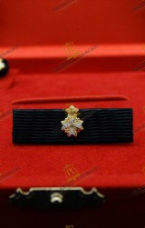 RIBBON FOR KNIGHT OF HONOUR  AND DEVOTION ORDER OF MALTA