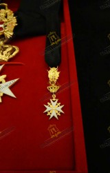 MINIATURE FOR KNIGHT OF HONOUR AND DEVOTION ORDER OF MALTA