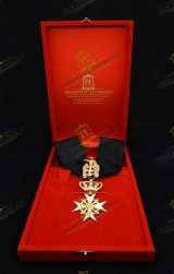 NECK INSIGNIA FOR KNIGHT OF HONOUR AND DEVOTION ORDER OF MALTA