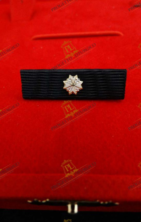 RIBBON FOR KNIGHT OF MAGISTRAL GRACE IN OBEDIENCE ORDER OF MALTA
