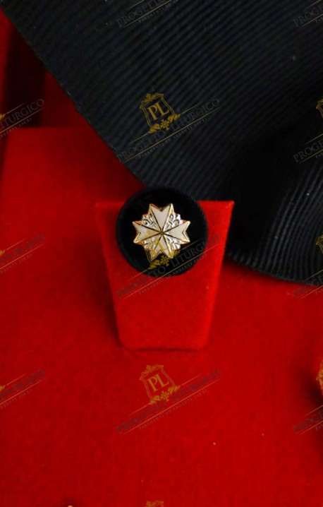 ROSETTE FOR KNIGHT OF MAGISTRAL GRACE IN OBEDIENCE ORDER OF MALTA