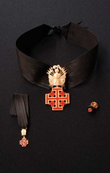 Insignia Equestrian Order Holy Sepulchre